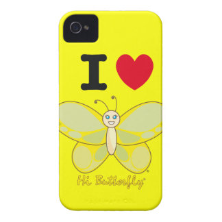 Hallo Butterfly® BlackBerry-mutige Case-Mate Case-Mate iPhone 4 Hülle