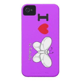 Hallo Butterfly® BlackBerry-mutige Case-Mate iPhone 4 Case-Mate Hüllen