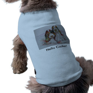 Hallo Cockerspaniel! Im Blau T-Shirt