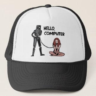 Hallo, Computer Truckerkappe