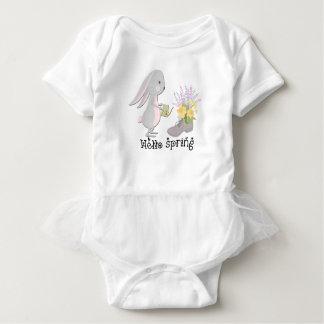 hallo Frühling Baby Strampler
