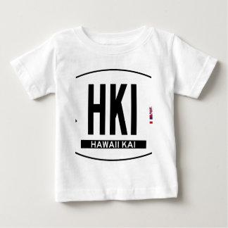 Hallo-HAWAIIKAI-Aufkleber Baby T-shirt
