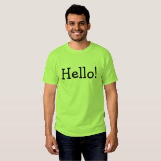 """""""Hallo """" Hemden"""
