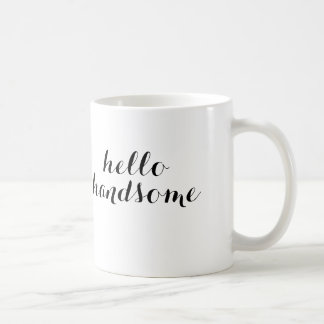 Hallo hübsche Tasse