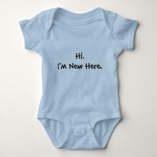 Hallo. Ich bin hier neu Baby Strampler
