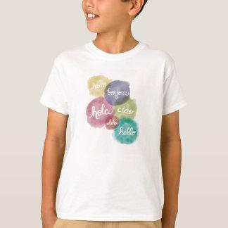 Hallo im T - Shirt 6 Sprachkinder