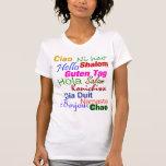 Hallo im viele SprachT - Shirt