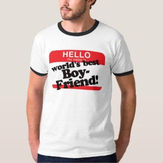 Hallo ist mein Name der beste Freund der Welt Tshirts