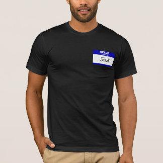 Hallo ist mein Name Josef (blau) T-Shirt