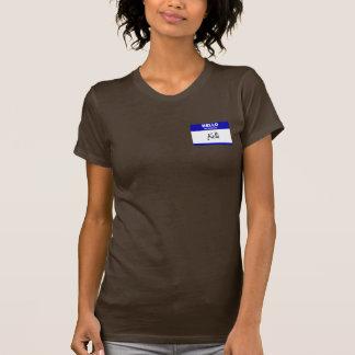 Hallo ist mein Name Kelli (blau) T-Shirt