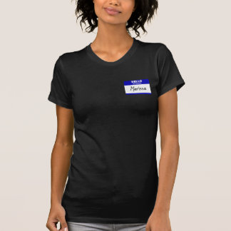 Hallo ist mein Name Marissa (blau) T-Shirt