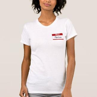 Hallo ist mein Name Marissa (rot) T-Shirt
