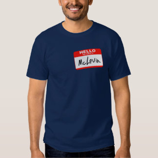 Hallo ist mein Name McLovin T Shirt