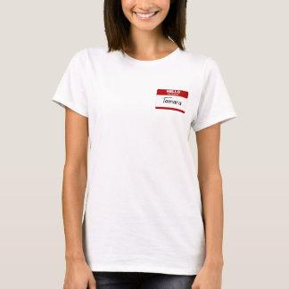 Hallo ist mein Name Tamara (rot) T-Shirt