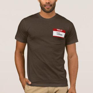 Hallo ist mein Name Tobias (rot) T-Shirt