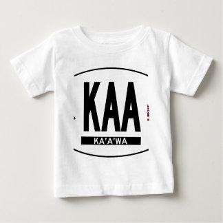 Hallo-Kaaawa-Aufkleber Baby T-shirt