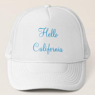 Hallo Kalifornien-Fernlastfahrer-Hut Truckerkappe