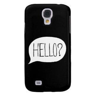Hallo? Kasten Samsung-Galaxie-S4 Galaxy S4 Hülle