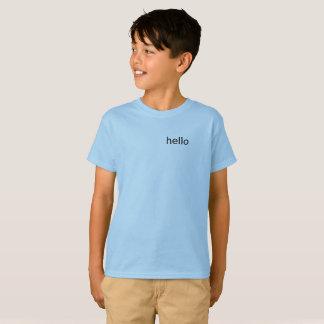 Hallo Kinder Spitzen T-Shirt