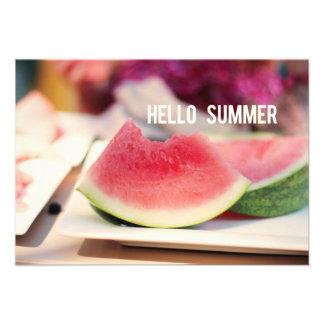 Hallo kundengerechte Party Einladung Sommer-