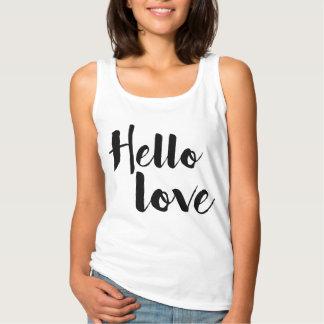 Hallo Liebe Tanktop
