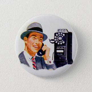 Hallo, Mabel? Es ist Tony Runder Button 5,1 Cm