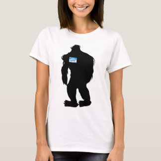 Hallo-Mein Name ist Bigfoot T-Shirt