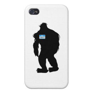 Hallo-Mein Name ist Sasquatch iPhone 4 Cover