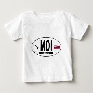 Hallo-MOILIILI-Aufkleber Baby T-shirt