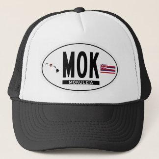 Hallo-MOKULEIA-Aufkleber Truckerkappe
