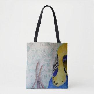 Hallo Parakeet-Tasche ganz über Entwurf Tasche