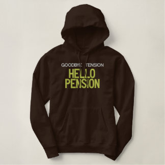 Hallo Pension gesticktes Shirt
