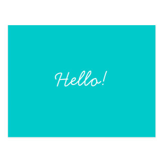 Hallo! Postkarte