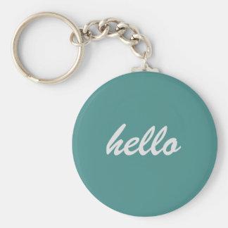 Hallo Schlüsselring Schlüsselanhänger