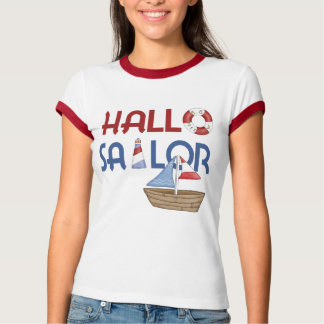 Hallo Seemann T-Shirt