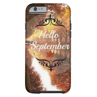 Hallo September Tough iPhone 6 Hülle