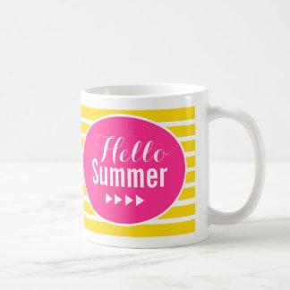 Hallo Sommer Kaffeetasse