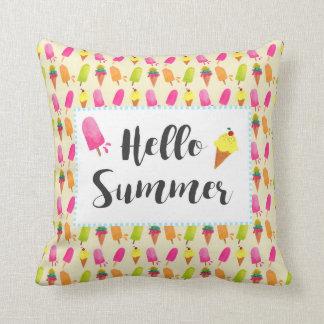 Hallo SommerPopsicles und Eiscreme Kissen