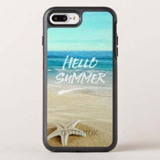 Hallo Sommerstarfish-Sonnenschein-Strand OtterBox Symmetry iPhone 8 Plus/7 Plus Hülle