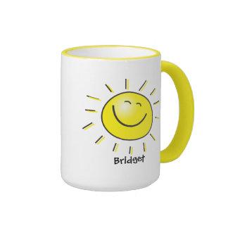 Hallo Sonne Kaffeetasse