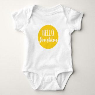 Hallo Sonnenschein Baby Strampler