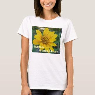"""""""Hallo, Sonnenschein!"""" T - Shirt"""
