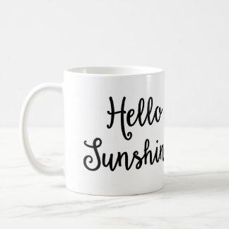 Hallo Sonnenschein-Tasse Tasse