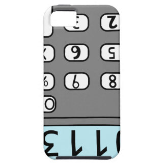 hallo Taschenrechner iPhone 5 Schutzhülle