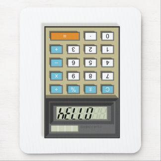 Hallo Taschenrechner-Mausunterlage Mousepad