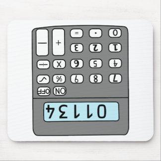 hallo Taschenrechner Mousepad