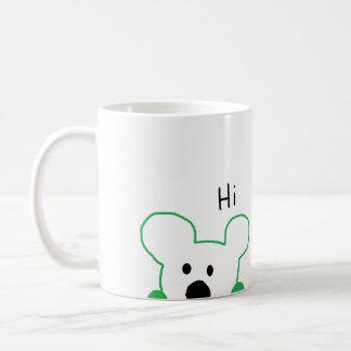 Hallo tragen! kaffeetasse