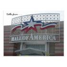 Hallo von… Mall von Amerika Postkarte
