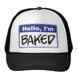 Hallo, werde ich gebacken cap