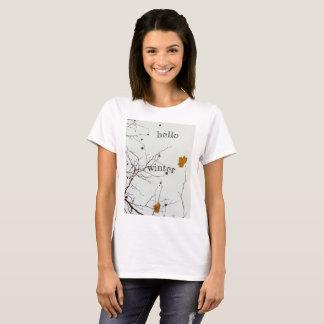 Hallo Winter rustikal T-Shirt